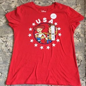 NWT Disney Woody & Jessy T-Shirt